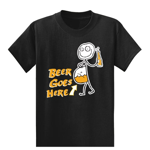 Alcohol Tall Graphic Tee