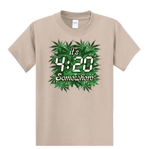 Weed Tall Graphic Tee