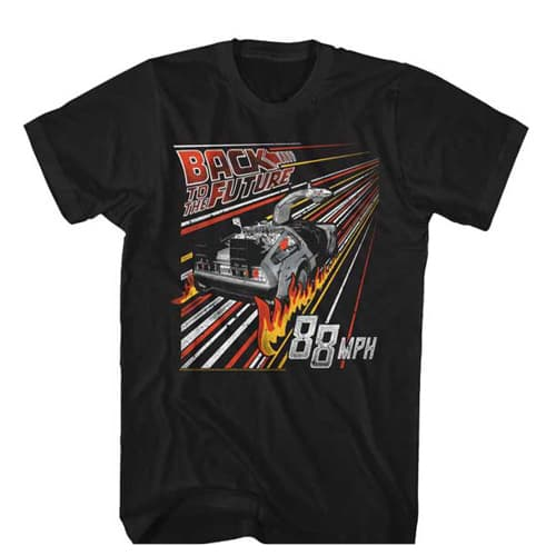 Back to the Future Tall Shirt