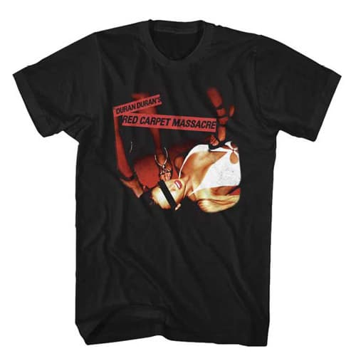 Duran Duran Red Carpet Massacre Shirt