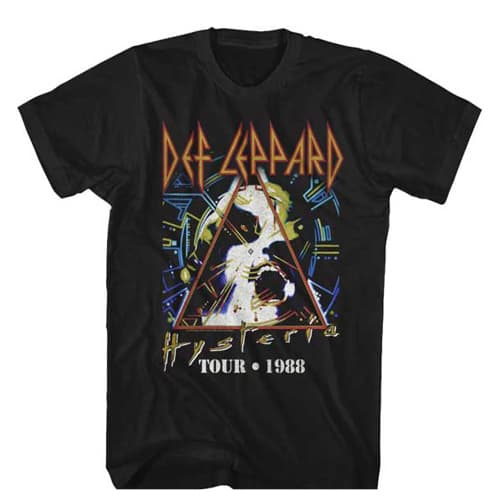 Def Leppard 1988 Tour Shirt