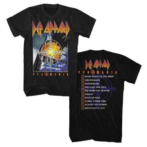 Def Leppart Tour Shirt