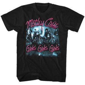 Motley Crue Tall Mens Shirt