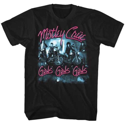 Motley Crue Tall Mens Shirt