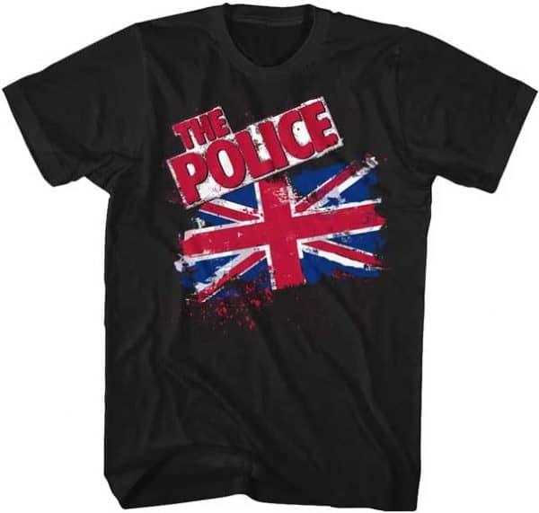 The Police Union Jack Tall Shirt