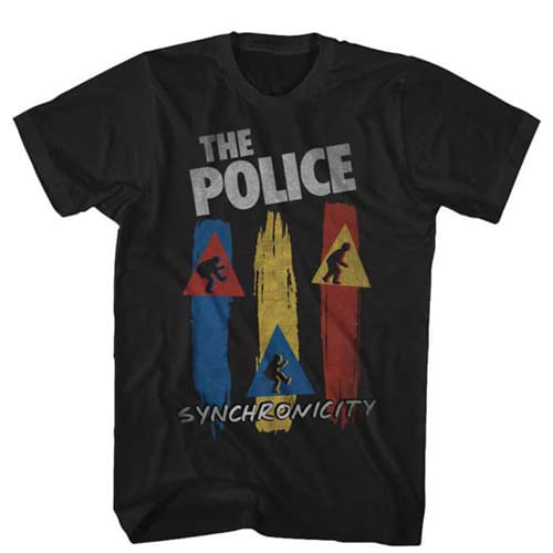 The Police Syncronicity Shirt