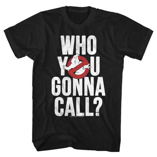 Ghostbusters tall shirt