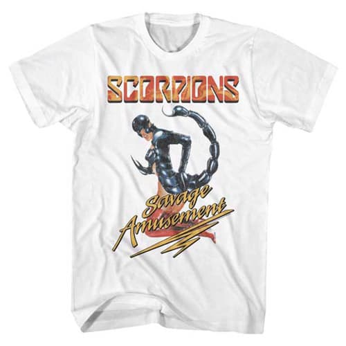 Scorpions Savage Amusement Shirt