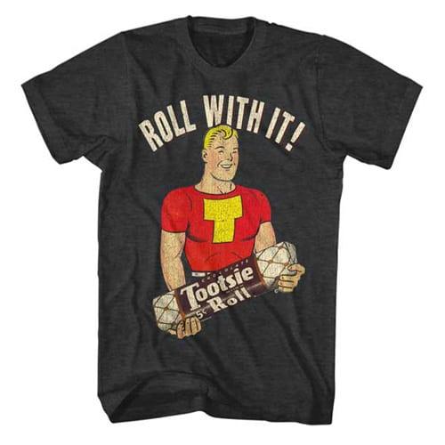 tootsie roll tall mans shirt