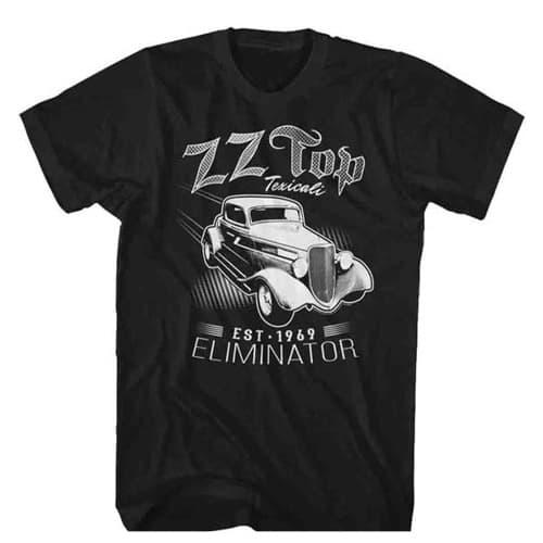 zz top eliniator texicali tall shirt
