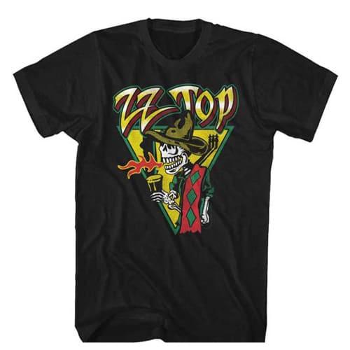 zz top tall shirt