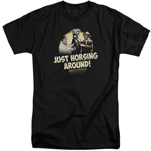 Abbot & Costello - Horsing Around Tall shirts