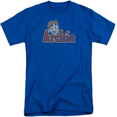 Archie Comics - Distressed Archie Logo Tall Shirts