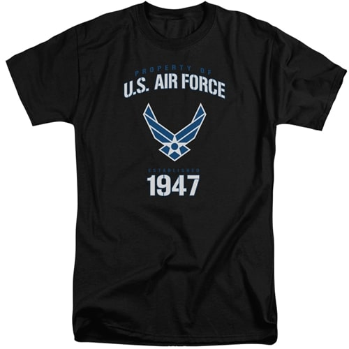 US Air Force - Property of Tall Shirts