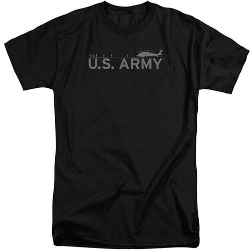 Army Helicopter Tall Shirts