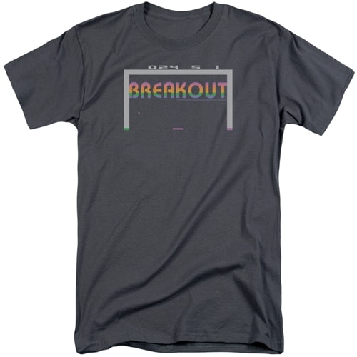 Atari Breakout 2600 Tall Shirts