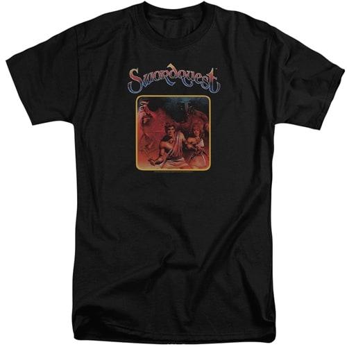 Swordquest tall shirt