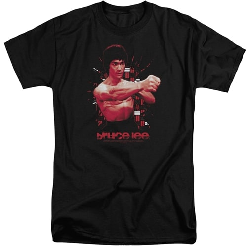 Bruce Lee tall shirts