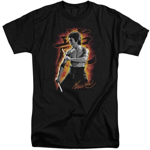 Bruce Lee tall shirts