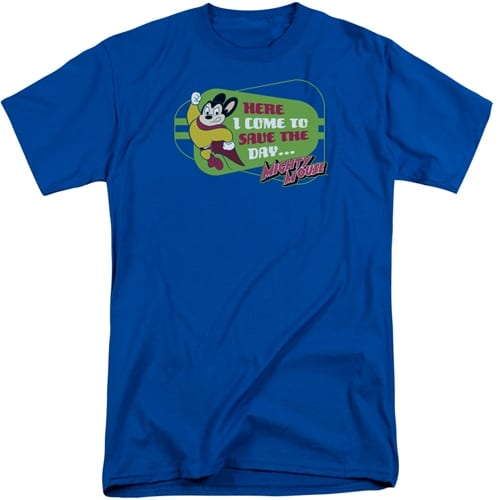 Mighty Mouse Tall Shirt