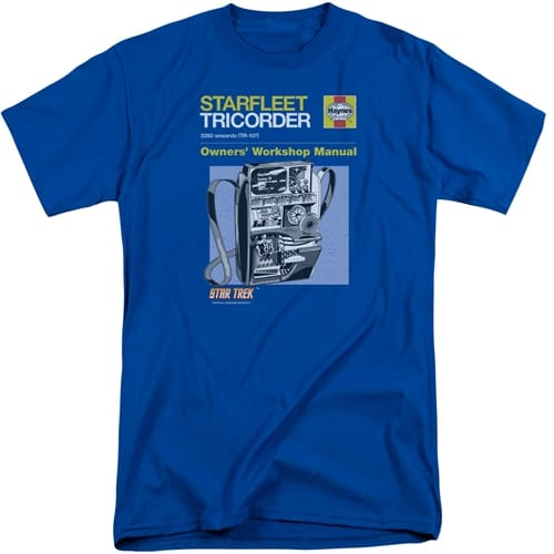 Star Trek Tricorder Tall Shirt