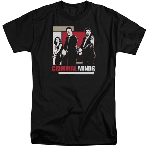 Criminal Minds - Guns Drawn Tall Shirts