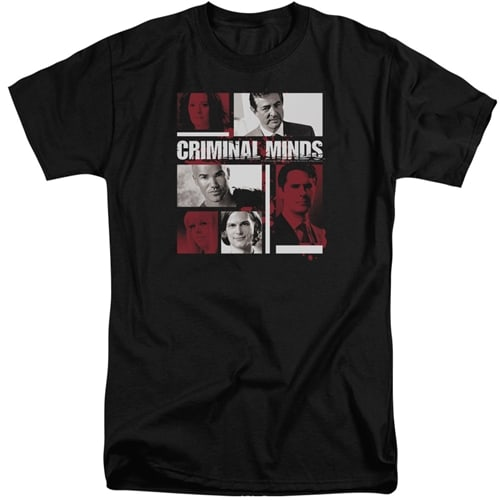 Criminal Minds Characters Tall Shirt
