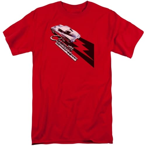 Chevrolet - Split Window Sting Ray Tall Shirt