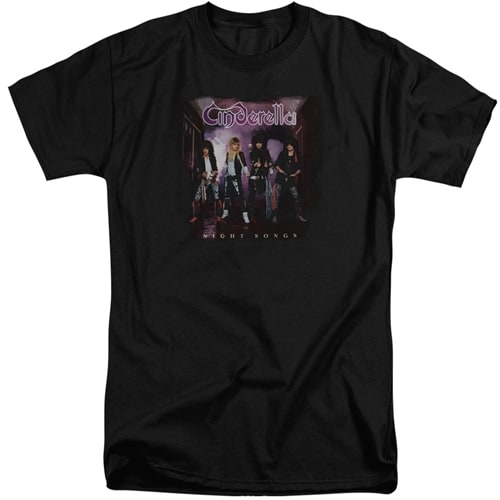 Cinderella - Night Songs Tall Shirts