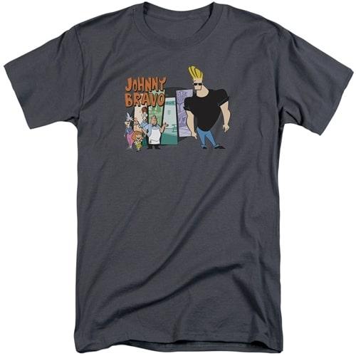 Johnny Bravo tall shirts
