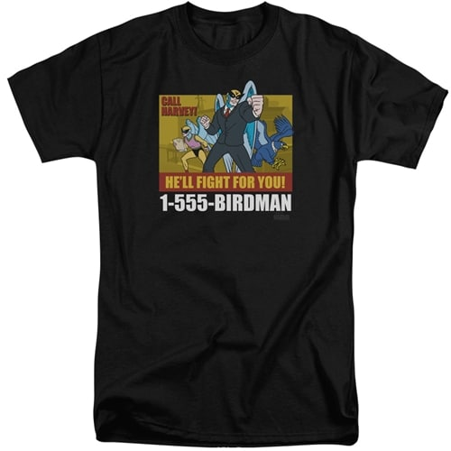 Harvey Birdman Tall Shirt