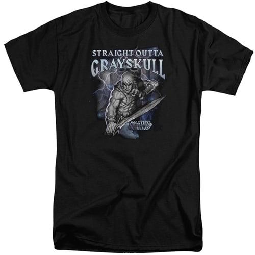 Masters of the Universe - Straight outta Grayskull Tall Shirt
