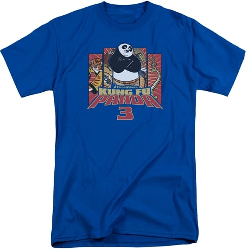 Kung Fu Panda - Kung Furry Tall Shirt