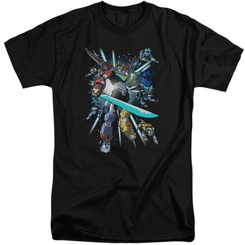 Voltron - Lions Share Tall Shirt