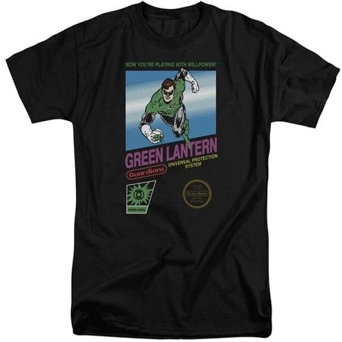Green Lantern tall shirts