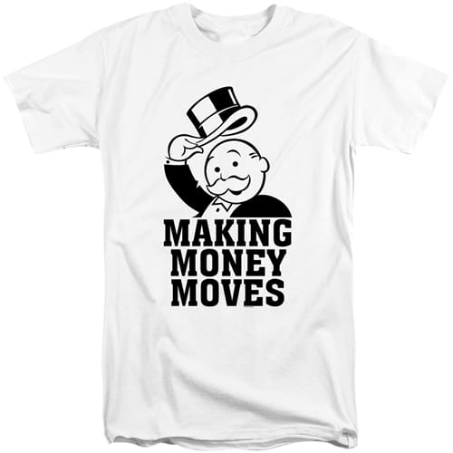 Monopoly Game Tall Graphic Tee