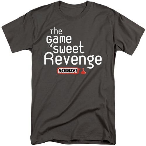 Sorry Game Tall Shirt