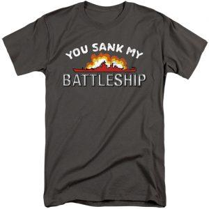Battleship Game Tall Shirt