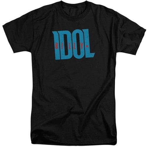 Billy Idol tall shirts
