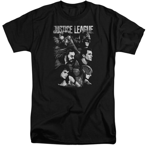 Justice League tall shirts