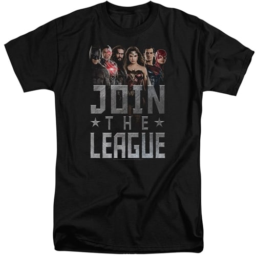 Justice League Movie Tall Shirt