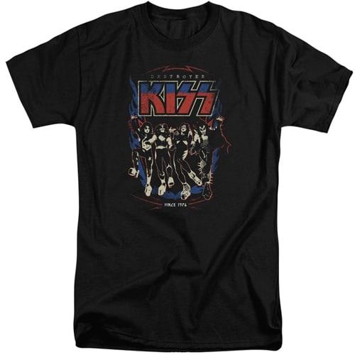KISS tall shirts