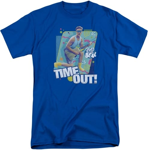 Saved By The Bell tall shirts