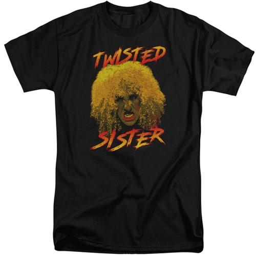 Twisted Sister tall shirts
