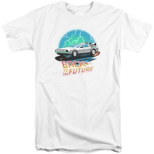 Bck To The Future tall shirts