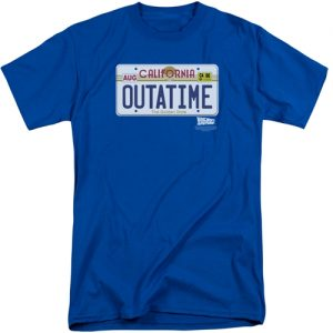 Back To The Future tall shirts