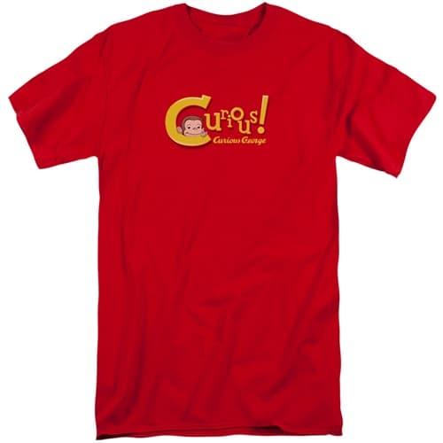 Curious George Tall Shirt