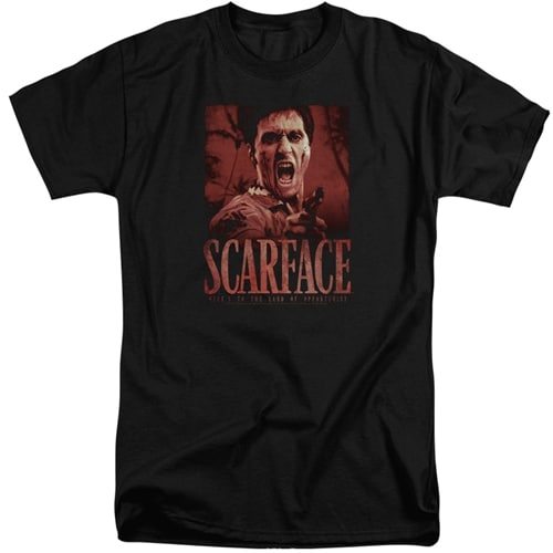Scarface tall shirts