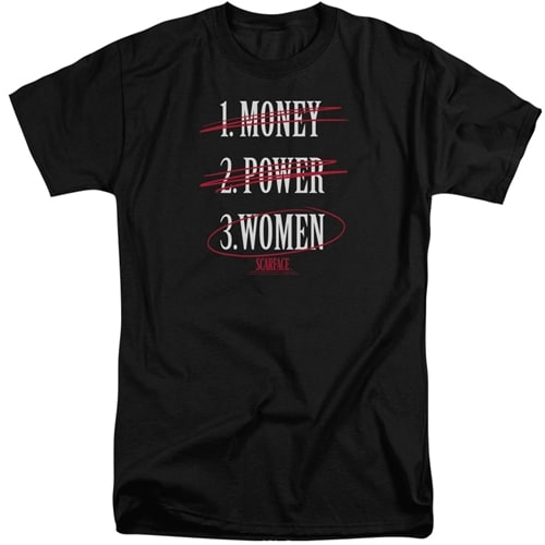 Scarface tall shirts