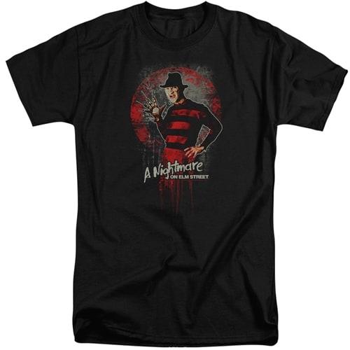 Nightmare on Elm Street Tall Shirt
